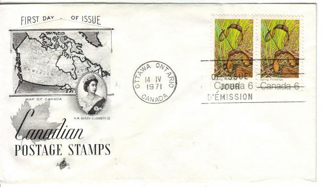 1971 - Maple Leaves - Art Craft C - Spring