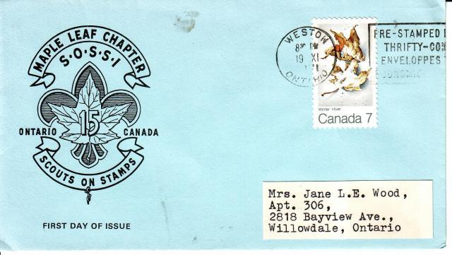 1971 - Maple Leaves - Boy Scouts - Winter