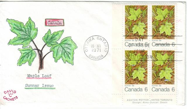 1971 - Maple Leaves - David C - Summer
