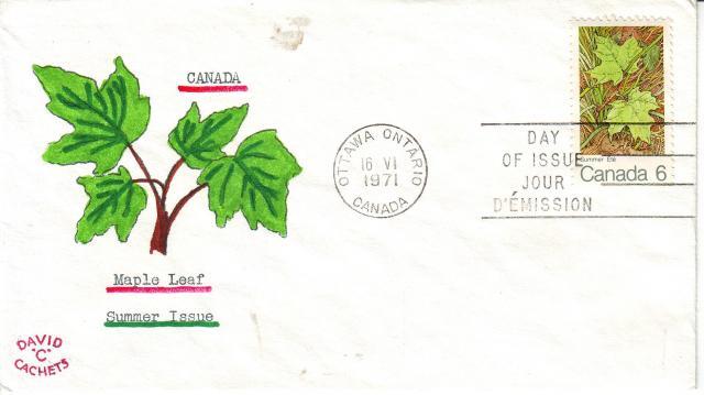1971 - Maple Leaves - David C - Summer 2