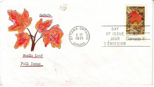 1971 - Maple Leaves - David C - Fall