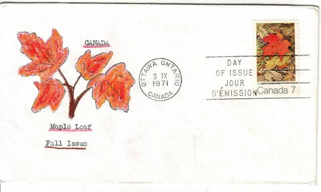 1971 - Maple Leaves - David C - Fall 2