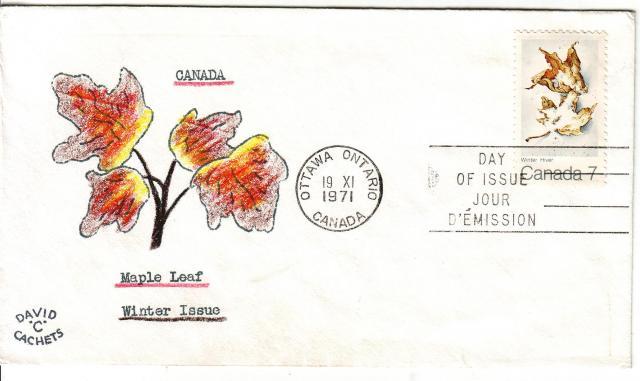 1971 - Maple Leaves - David C - Winter