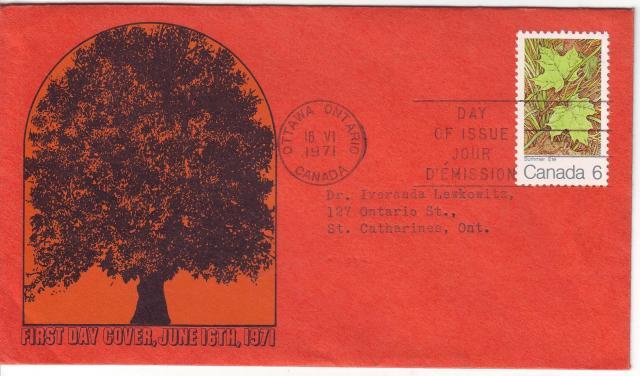 1971 - Maple Leaves - Elliott-Marion - Summer