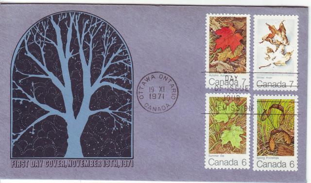 1971 - Maple Leaves - Elliott-Marion - Comb - 4 Seasons