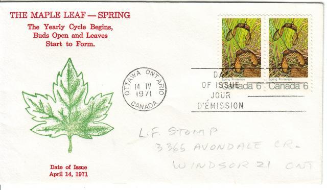 1971 - Maple Leaves - Grover - Spring