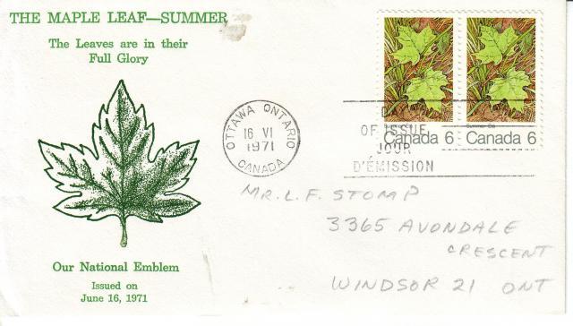 1971 - Maple Leaves - Grover - Summer