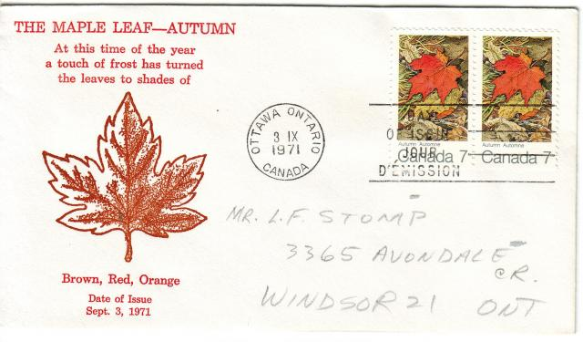 1971 - Maple Leaves - Grover - Fall