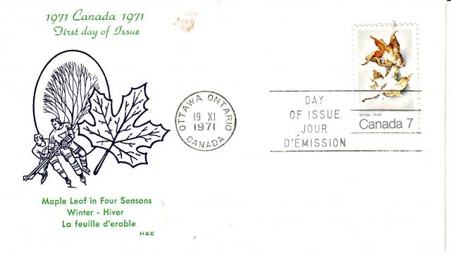 1971 - Maple Leaves - H & E - Winter