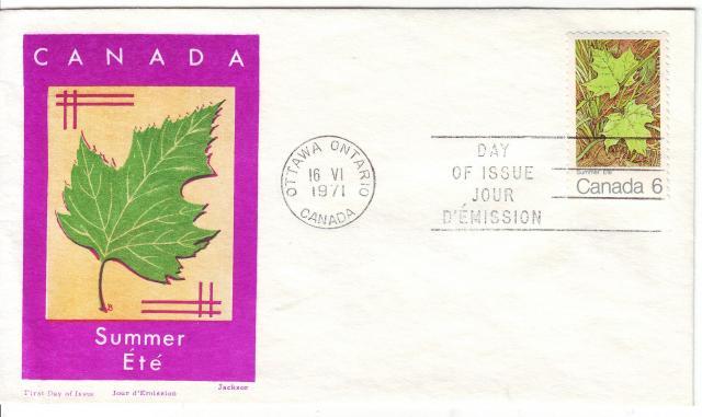1971 - Maple Leaves - Jackson - Summer