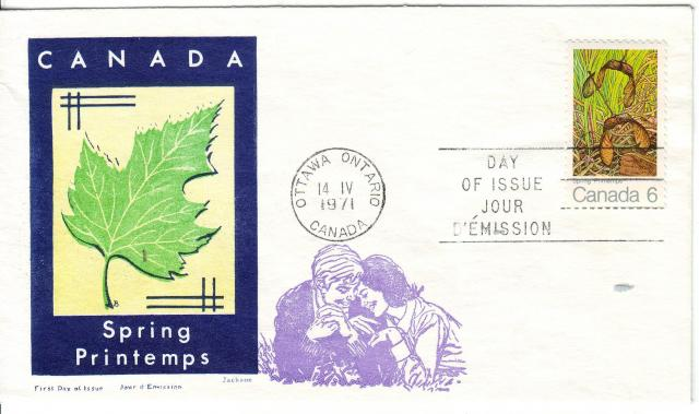1971 - Maple Leaves - Jackson - Oversea Mailer - Spring
