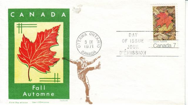 1971 - Maple Leaves - Jackson - Oversea Mailer - Fall