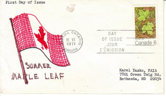 1971 - Maple Leaves - K.Y. Faia - Summer