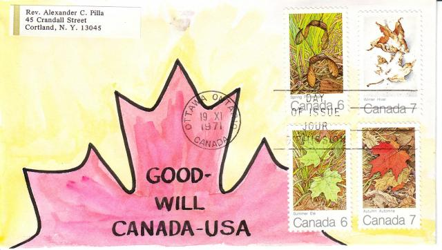 1971 - Maple Leaves - Rev A.C. Pilla - 4 Seasons 2