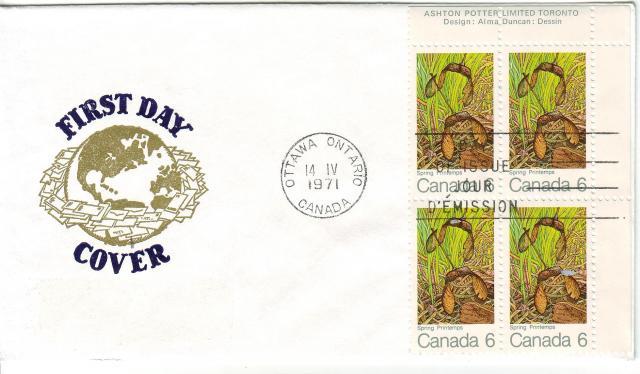 1971 - Maple Leaves - Van Dahl - Spring
