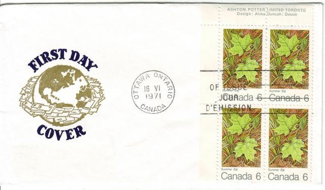 1971 - Maple Leaves - Van Dahl - Summer