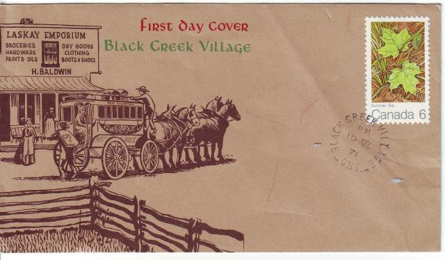 1971 - Maple Leaves - Others - Black Creek Village - Summer