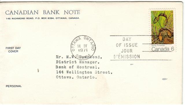1971 - Maple Leaves - Others - Cdn Bank Note - Spring