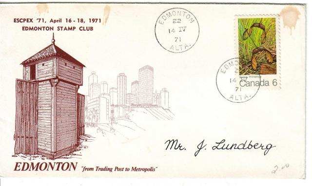 1971 - Maple Leaves - Others - Edmonton Stamp Club - Spring