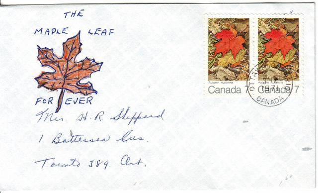1971 - Maple Leaves - Others - Hand Drawn - Unknown - Fall