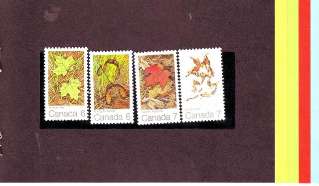 1971 - Maple Leaves - Canada Post - Inside 2