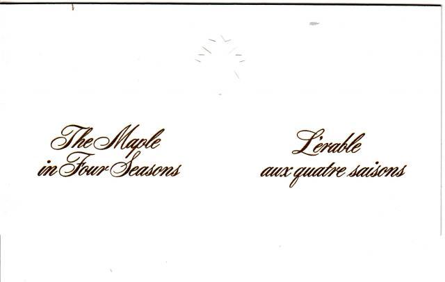 1971 - Maple Leaves - Ashton-Potter - Folder