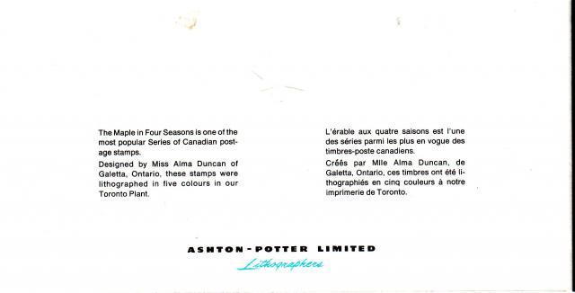 1971 - Maple Leaves - Ashton-Potter - Inside