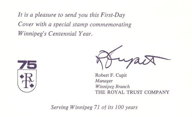 Royal Trust stuffer