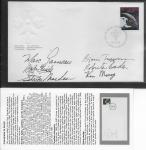 1046 Canadians in Space fdc