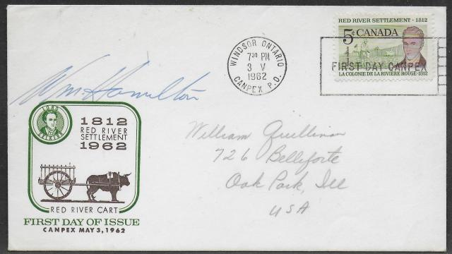 1962 Windsor RPSC 397 fdc