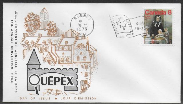 1975 Quebec City RPSC 660 fdc