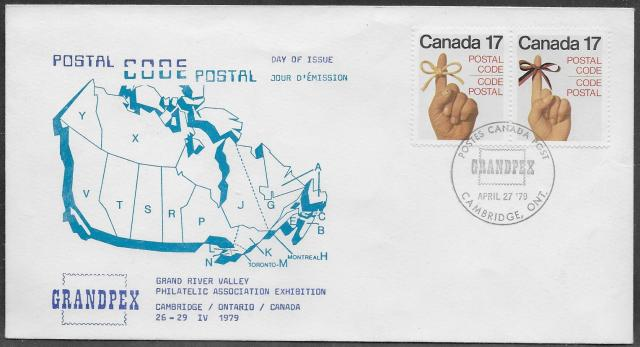 1979 Cambridge GRANDPEX RPSC 815-816 fdc