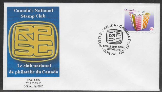 2011 Montreal Royale 2435 non-fdc