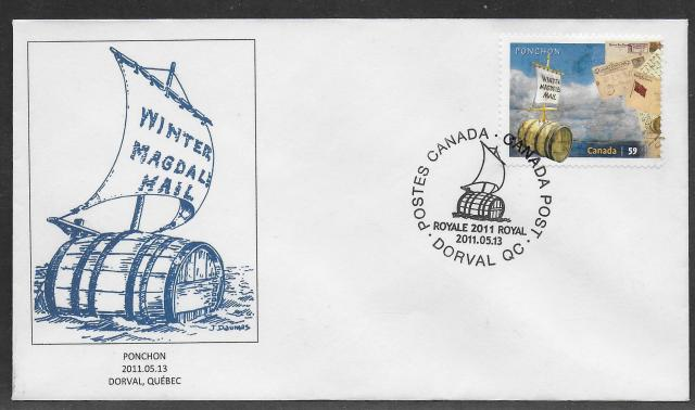 2011 Montreal Royale 2468 fdc