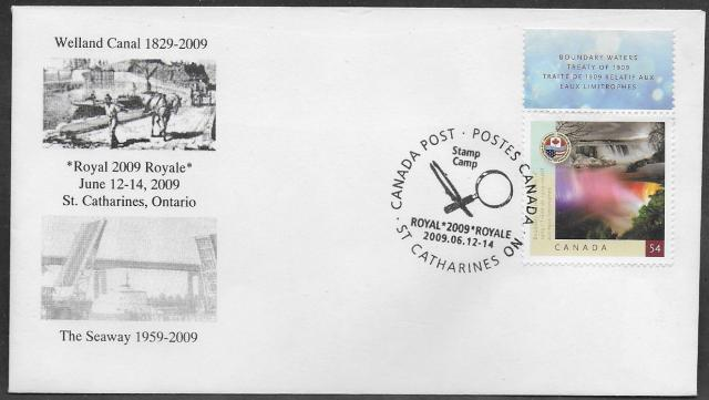 2009 St Catharines Royale 2332 fdc