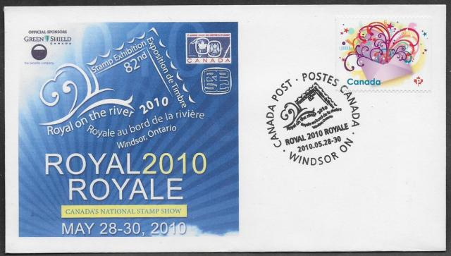 2010 Windsor Royale 2314 non-fdc