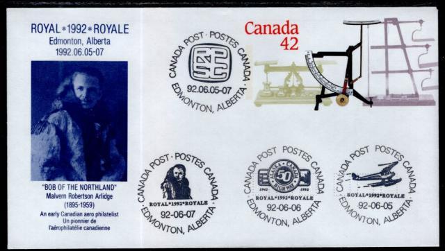1992 Edmonton Royale EN126b envelope