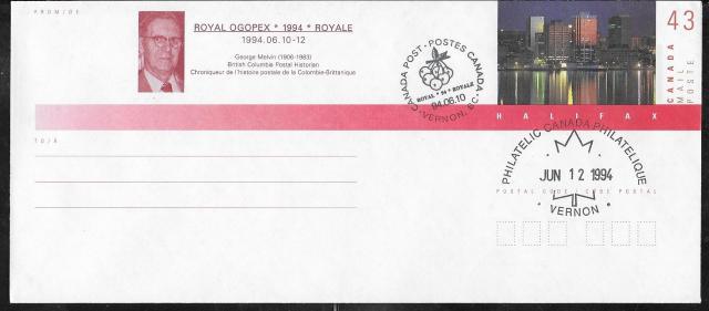 1994 Vernon OGOPEX Royale EN139c fdi