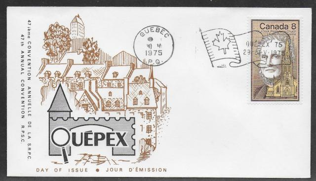 1975 Quebec City RPSC 663 fdc