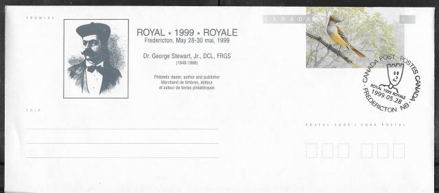 1999 Fredericton Royale EN155c First Day Cancel