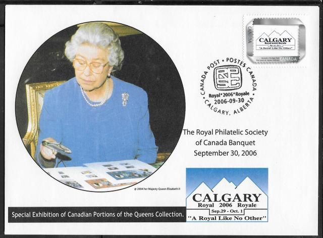 2006 Calgary Royale picture postage fdc