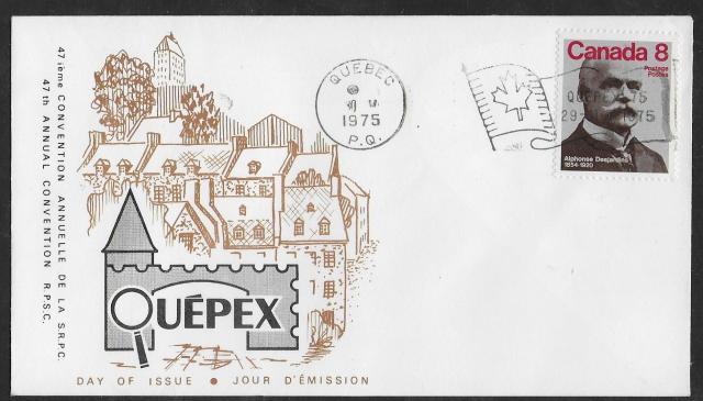 1975 Quebec City RPSC 661  fdc