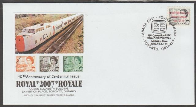 2007 Toronto Royale 460 overprint