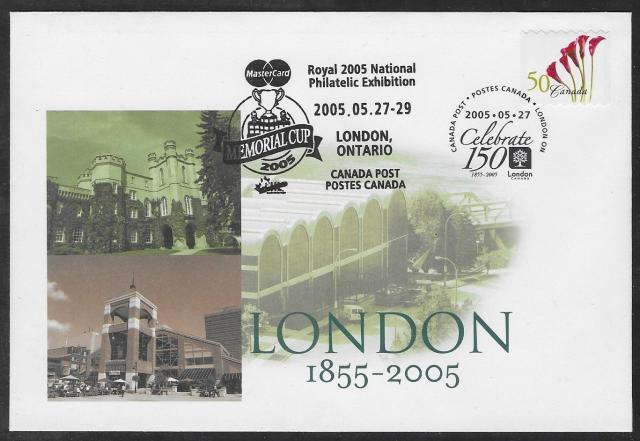 2005 London Royale 2072 CPC first day envelope