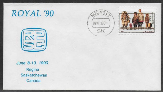 1990 Regina Royal 1274 fdc