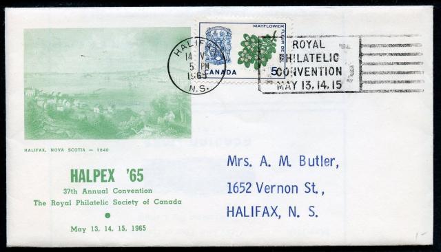 1965 Halifax RPSC 420 non-fdc