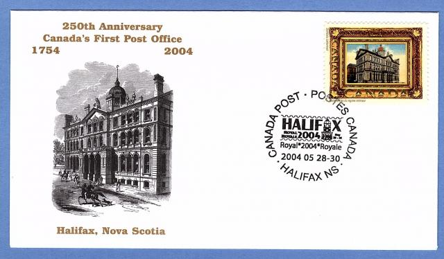 2004 Halifax Royale Picture Postage cover
