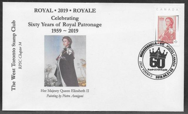 2019 Mississauga Royale WTSC cover
