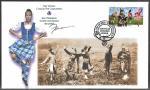 1655 Highland Games signed OFDC cachet